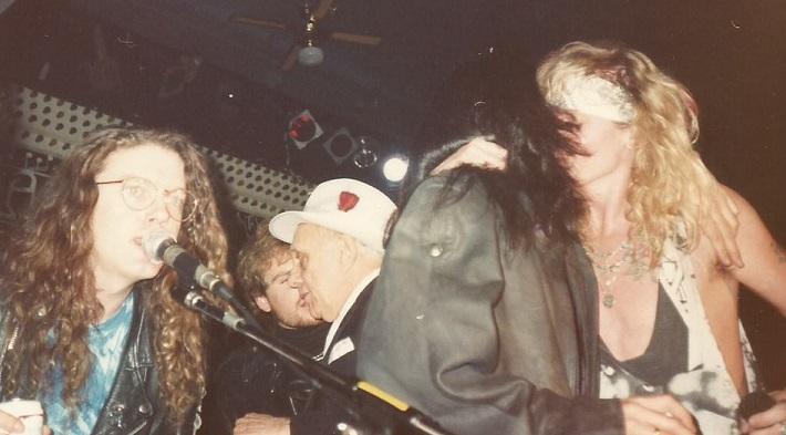 Dizzy Reed, Bill Gazzarri, Johnny X - KK (Taz)