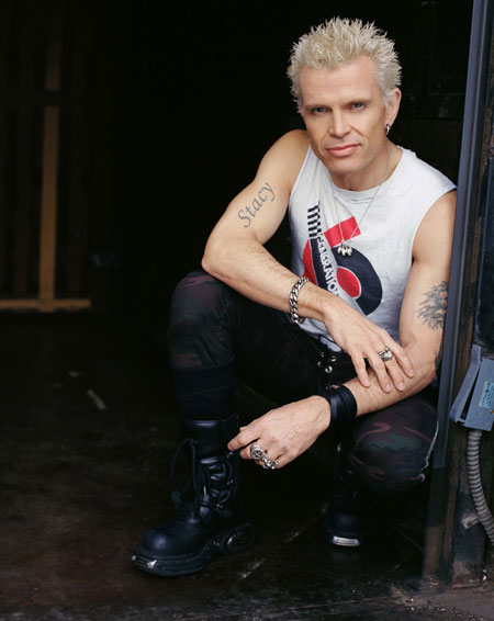 Billy Idol in Italia a giugno!