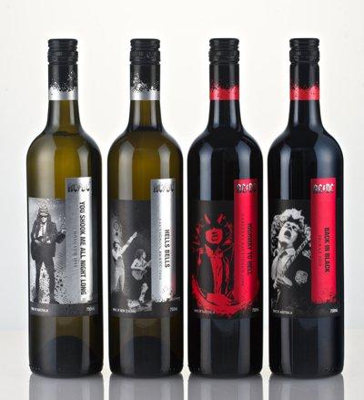 In arrivo il vino degli AC/DC