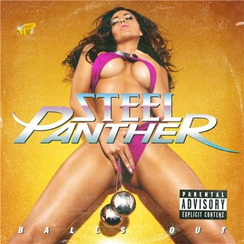 """Copertina e tracklist di """"Balls Out"""" degli Steel Panther"""