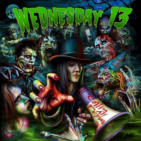 "Singolo di ""Something Wicked This Way Comes"" per Wednesday 13"