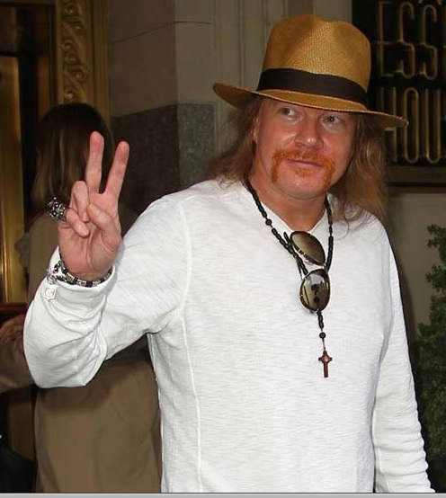 Niente Rock and Roll Hall of Fame per Axl Rose