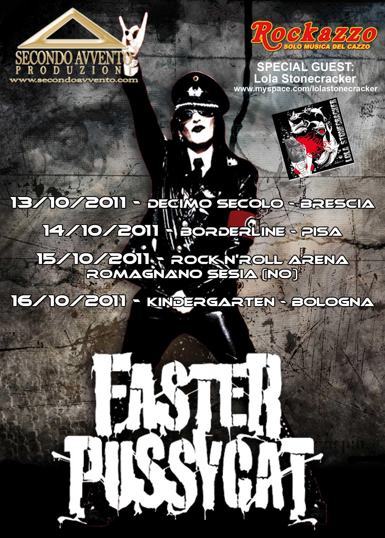 Faster Pussycat: italian tour 2011
