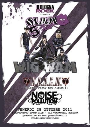 Wig Wam: questo venerdì al Glam Fest 5
