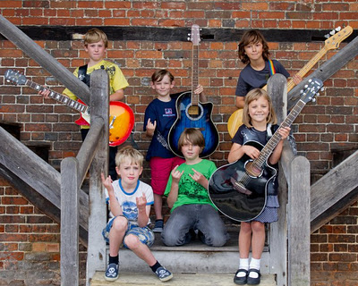 The Mini Band: Rock'n'Roll next generation!!!