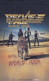 Reckless Love Italian Tour