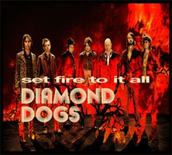 Tornano con un nuovo album i Diamond Dogs
