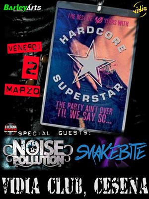 Noise Pollution e Snakebite con gli Hardcore Superstar a Cesena