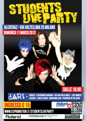 Student Live Party a Milano