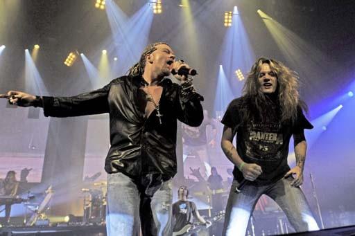 Sebastian Bach con i Guns N' Roses