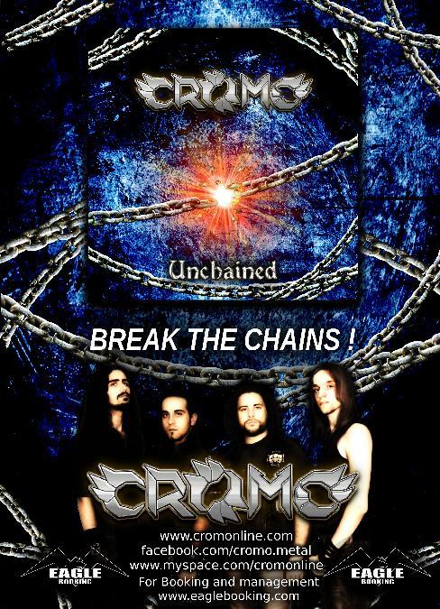 """Cromo: disponibile dal 6 Aprile """"Unchained"""" il nuovo ep"""