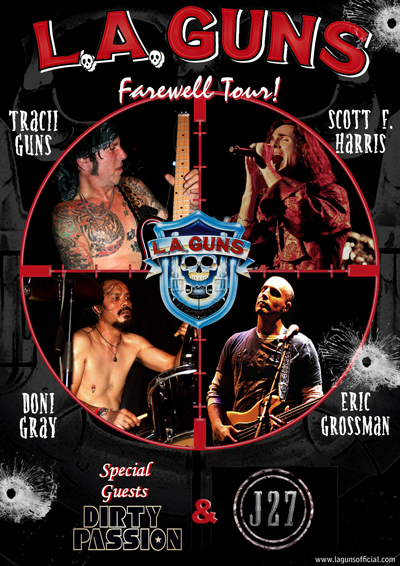 LA Guns: Farewell Tour