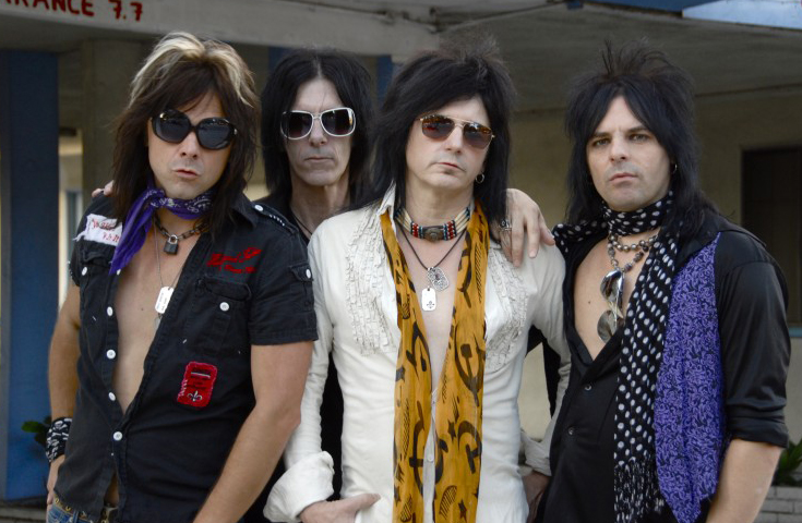 "Video di ""Arana Negra"" per gli L.A. Guns"