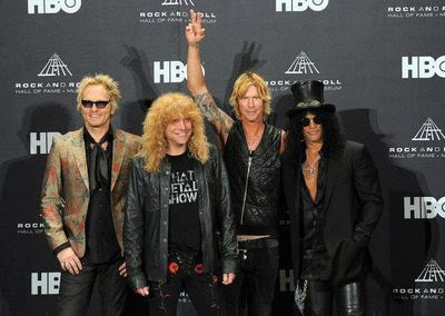 Gli ex Guns N' Roses al Rock And Roll Hall Of Fame