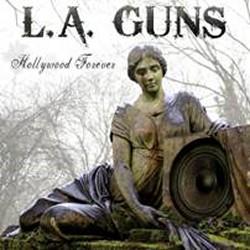 "Artwork di ""Hollywood Forever"" per gli L.A. Guns"