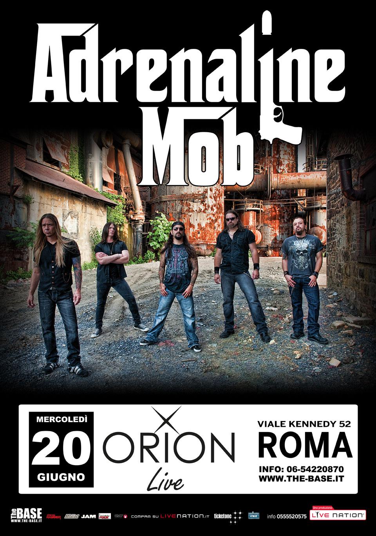 """Adrenaline Mob: guarda il video del primo singolo """"Indifferent"""" in attesa delle due date italiane"""