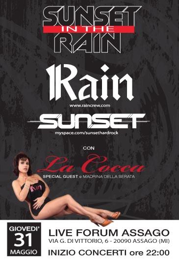 Rain live ad Assago