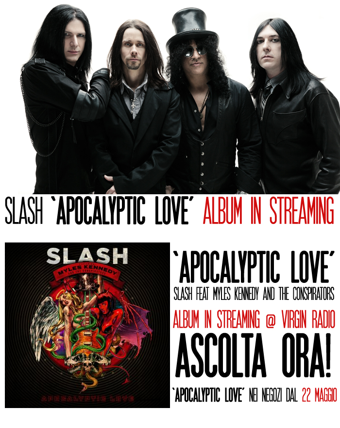 "Slash: ""Apocalyptic Love"" di Slash in streaming"