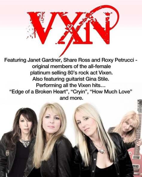 Nuovo progetto per le Vixen