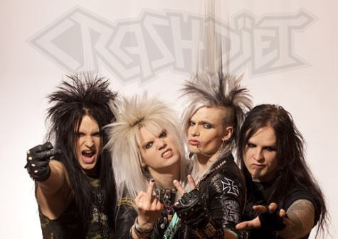 "Video di ""California"" per i Crashdiet"
