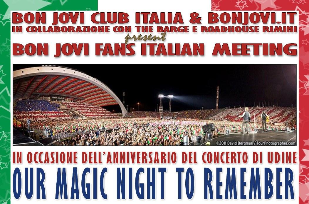 Bon Jovi Fans Italian Meeting
