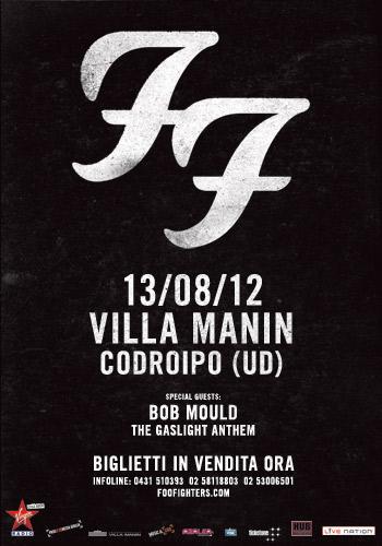 Foo Fighters: parte il 13 agosto dall'Italia la nuova attesa tranche di concerti