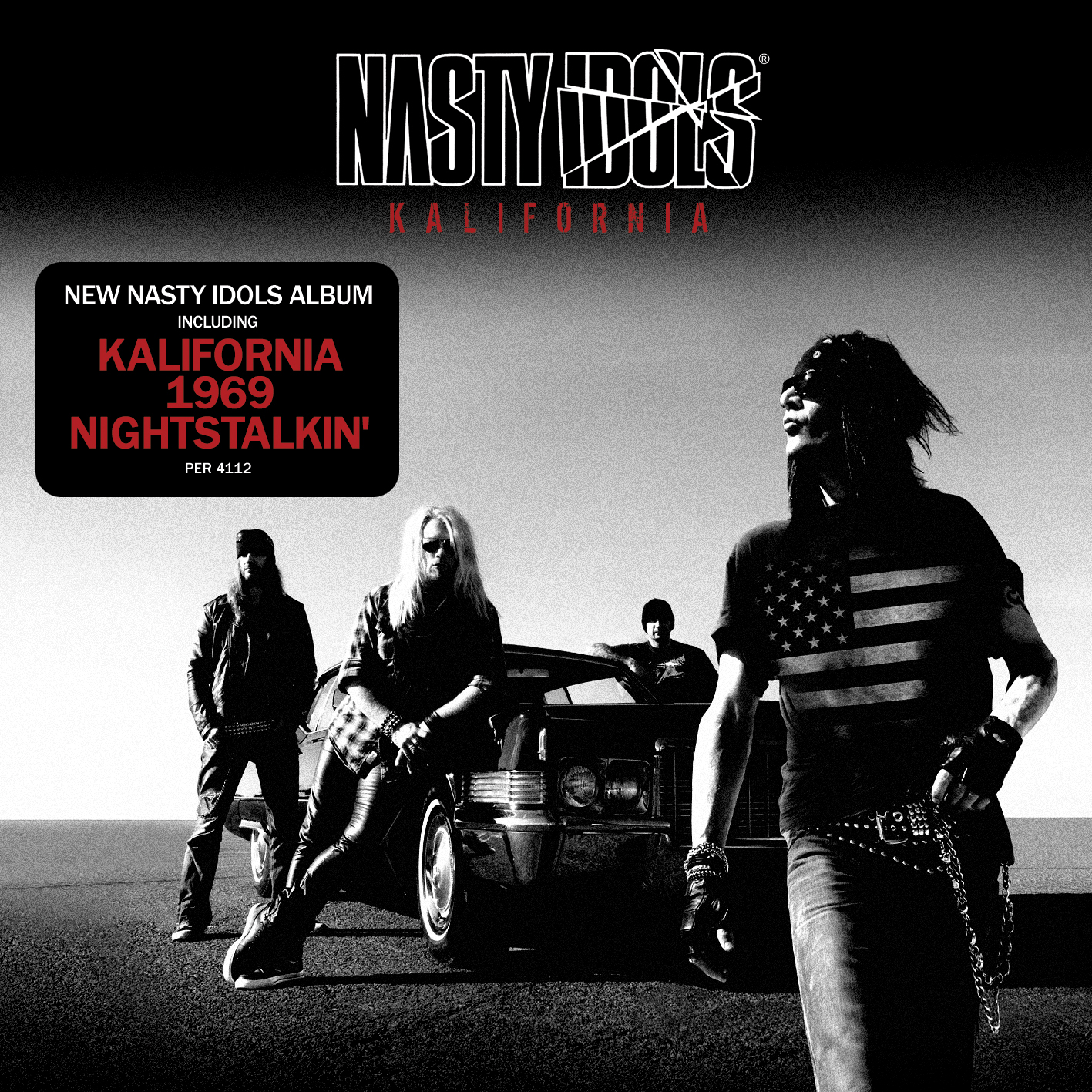 "Video di  ""Kalifornia"" per i Nasty Idols"