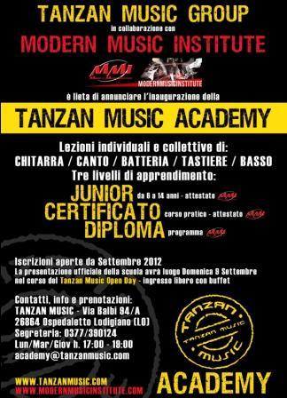 Tanzan Music Open Day 2012