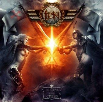 """""""Heresy And Creed"""",  il nuovo album dei Ten"""