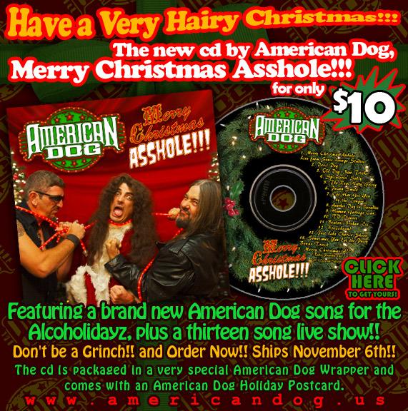 Album natalizio per gli American Dog