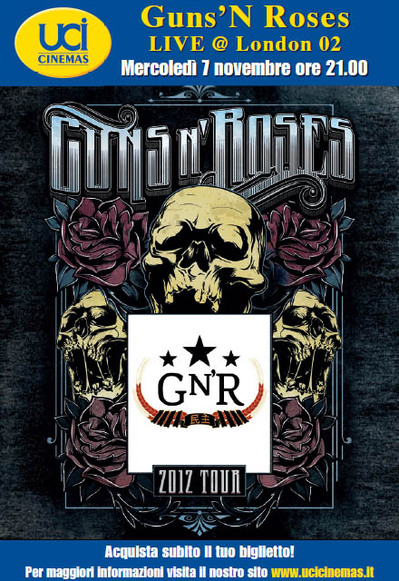 I Guns N' Roses al cinema!