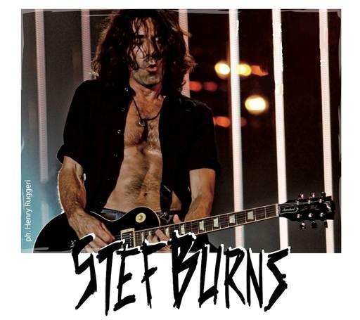 Stef Burns: in attesa del nuovo album, alcune date in Italia