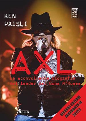 """Esce """"Axl"""", il nuovo libro di Ken Paisli"""