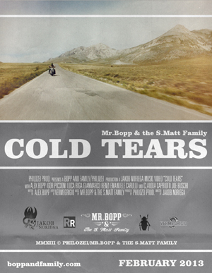 "Mr Bopp & the S. Matt Family pronti per l'uscita del videoclip ""Cold Tears"""