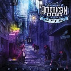 Gli American Dog insieme al cantante dei Waysted