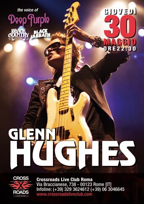 Glenn Hughes in concerto a Roma