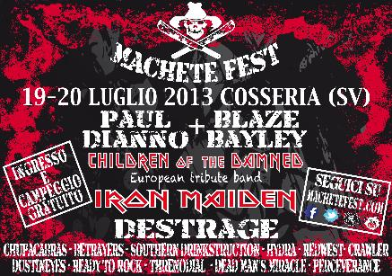 Machete Fest 2013: il programma completo