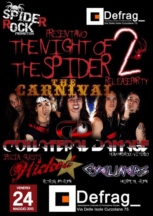 Night Of The Spider – Serata II