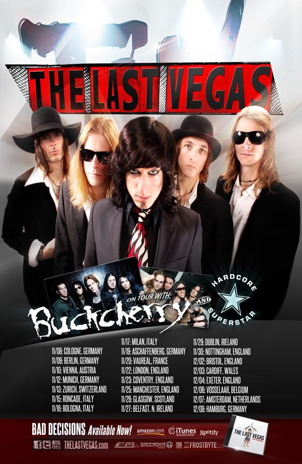 The Last Vegas: tour europeo