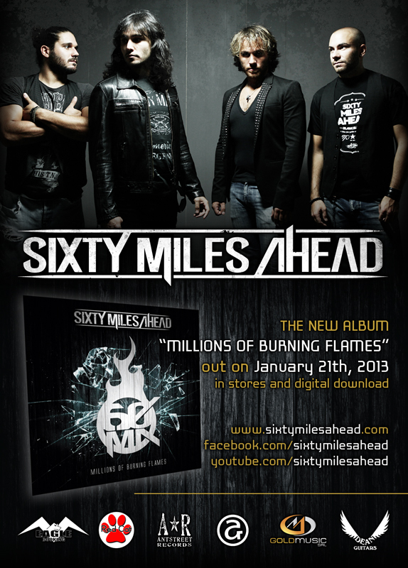 "Sixty Miles Ahead: il nuovo video clip ""Change Our Stars"""