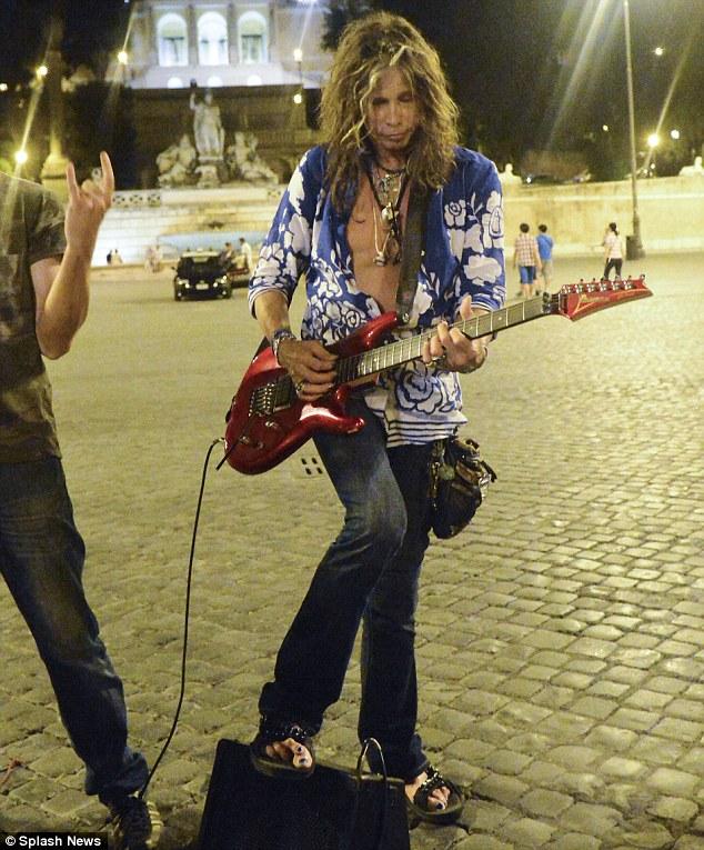 Steven Tyler a Roma