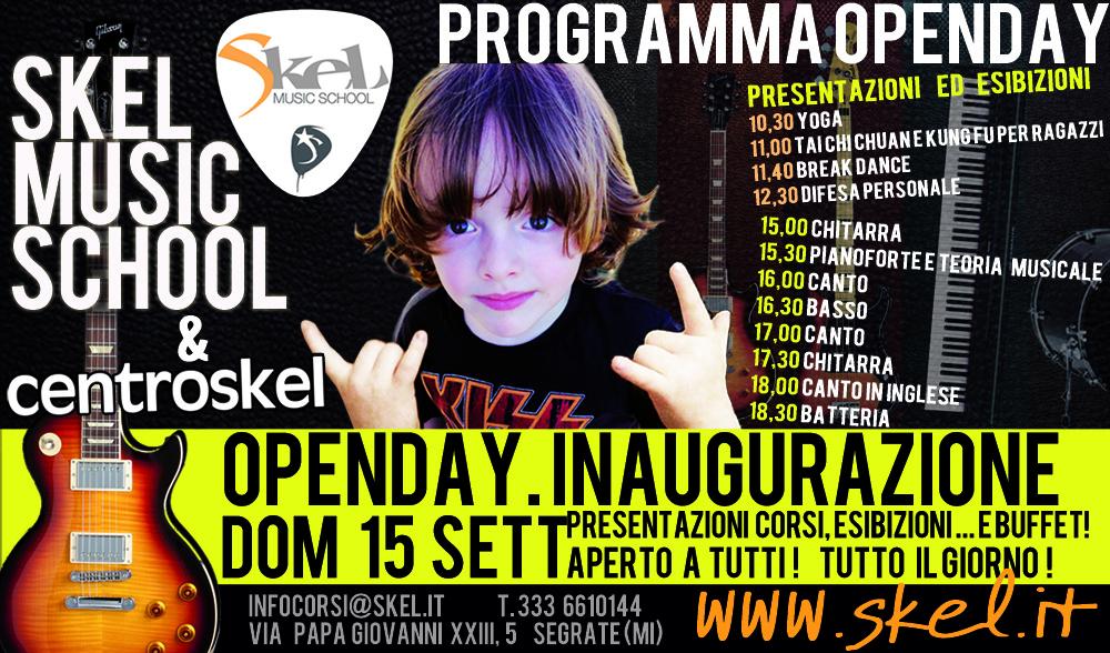 Apre la Skel Music School a Segrate, a due passi da Milano