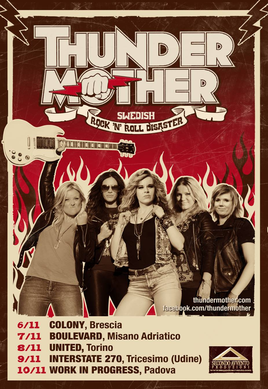 Tornano in Italia le Thundermother