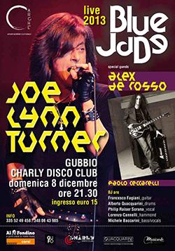 Joe Lynn Turner in Italia a dicembre