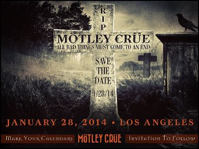 Mötley Crüe: la conferenza stampa del Final Tour