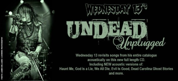 Cofanetto e disco acustico per Wednesday 13