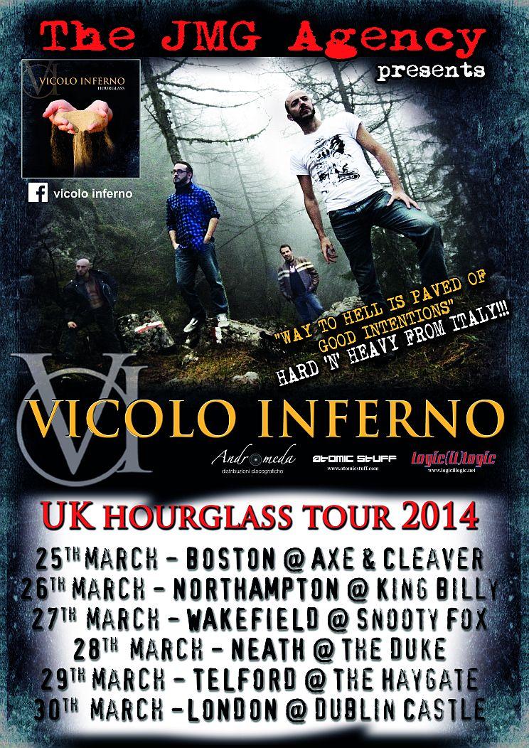 Vicolo Inferno: tour in UK