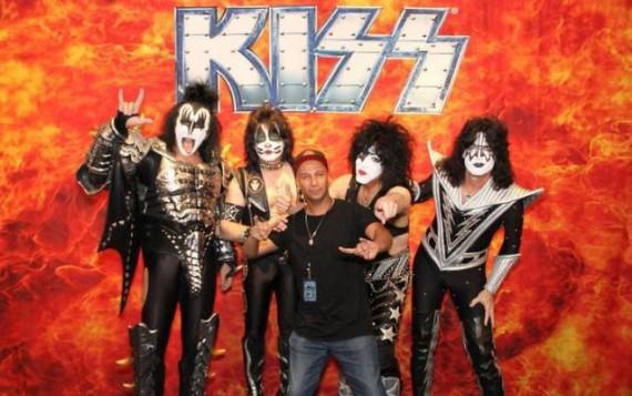 I Kiss presentati alla Rock And Roll Hall Of Fame da Tom Morello