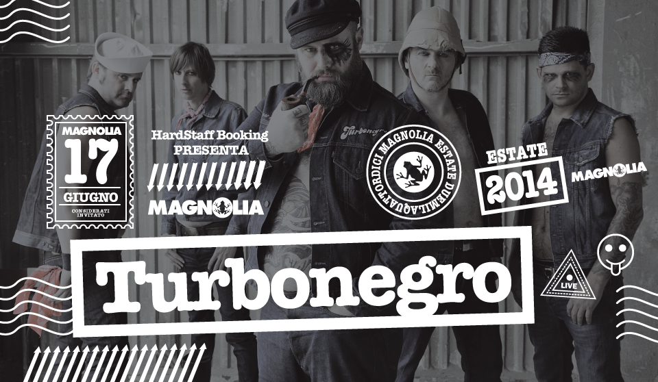 Turbonegro: data unica in Italia