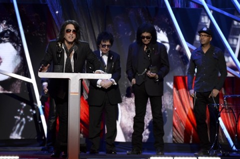 Kiss: il video alla Rock And Roll Hall Of Fame